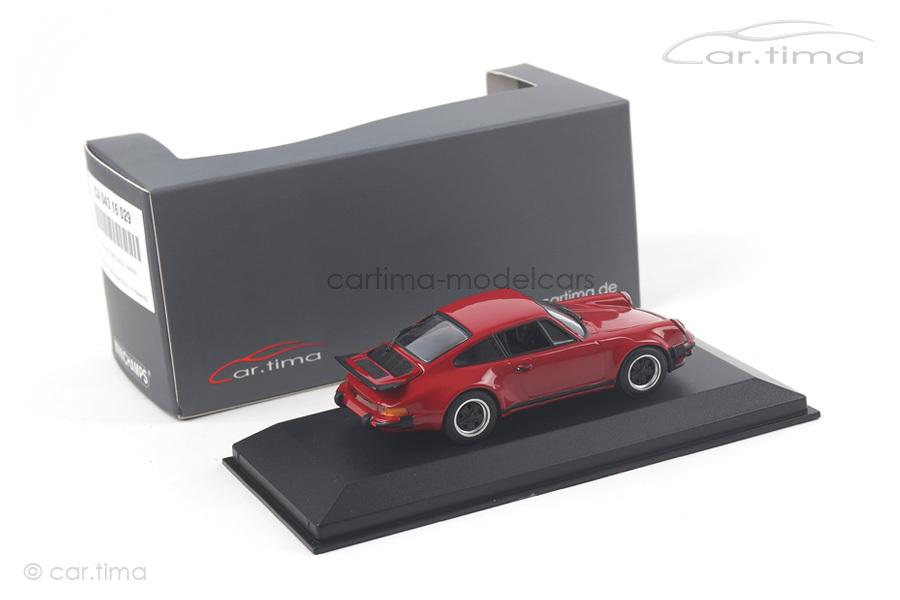 Porsche 911 (930) Turbo 3.0 Karminrot Minichamps car.tima EXCLUSIVE 1:43 CA04316029