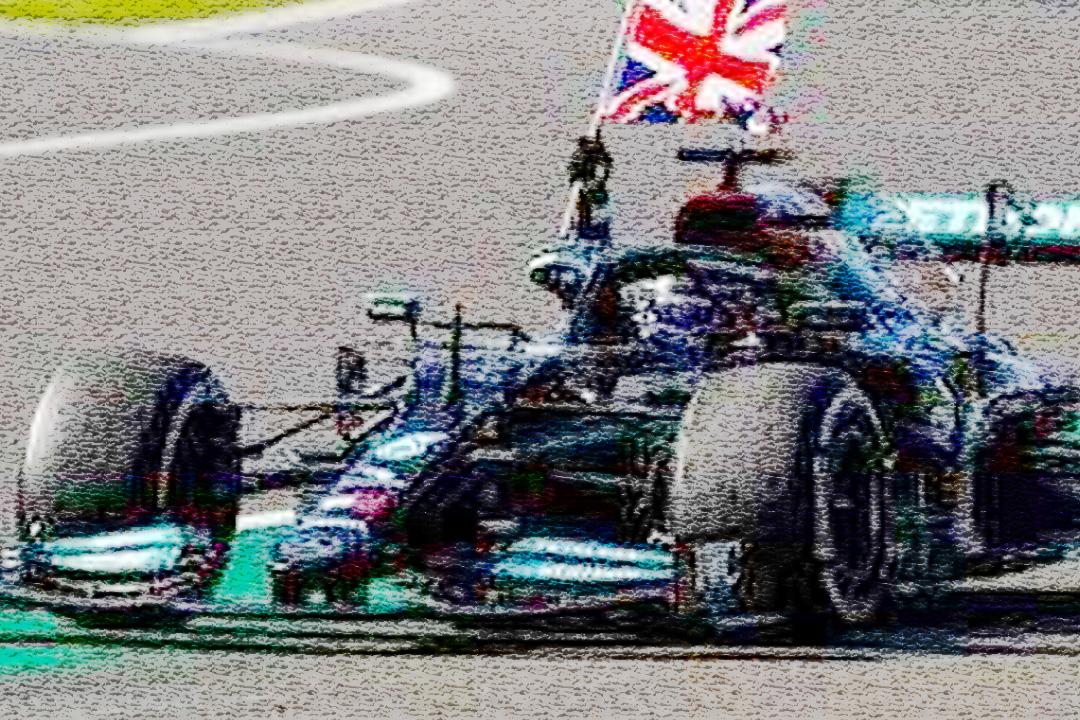 Mercedes-AMG F1 W12  Winner GP Großbritannien 2021 Lewis Hamilton Spark 1:18 18S599