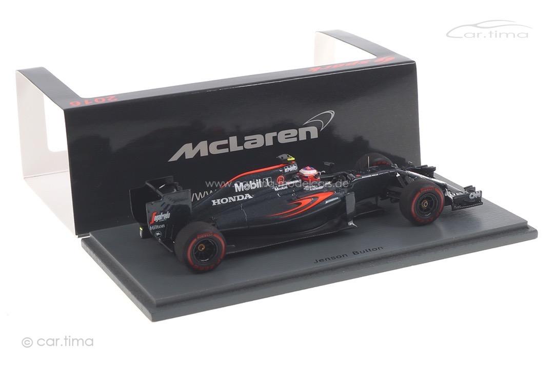 McLaren MP4-31 GP Australien 2016 Jenson Button Spark 1:43 S5012