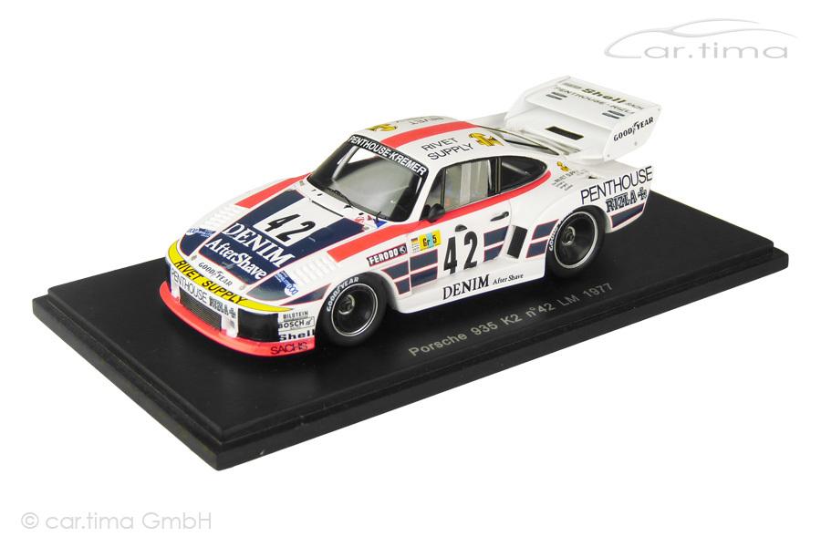 Porsche 935 K2 24h Le Mans 1977 Ewards/Faure/Fitzpatrick Spark 1:43 S2029