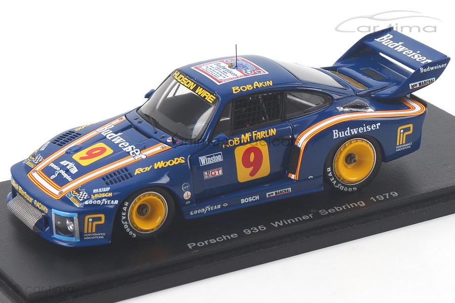 Porsche 935 Winner 12h Sebring 1979 Akin/McFarlin/Woods Spark 1:43 43SE79