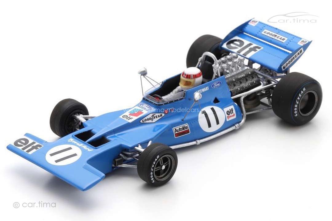 Tyrrell 003 Winner GP Monaco 1971 Jackie Stewart Spark 1:43 S7213