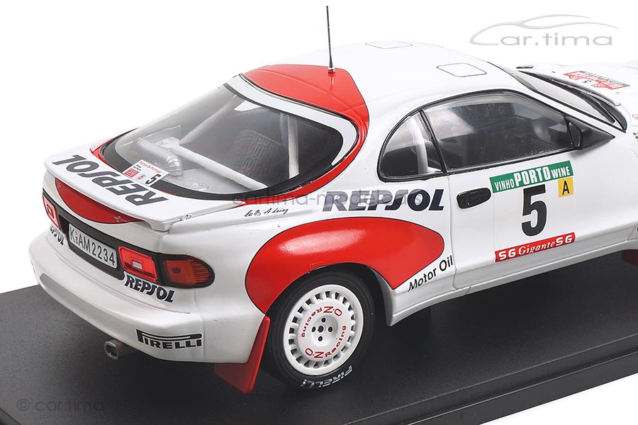 Toyota Celica GT-Four Rallye Portugal 1992 Schwarz/Hertz IXO Models 1:18 18RMC023C