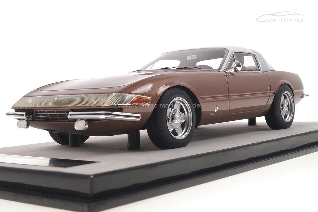 Ferrari 365 GTB/4 Daytona Coupe Speciale bronze met. Tecnomodel 1:18 TM18-108D