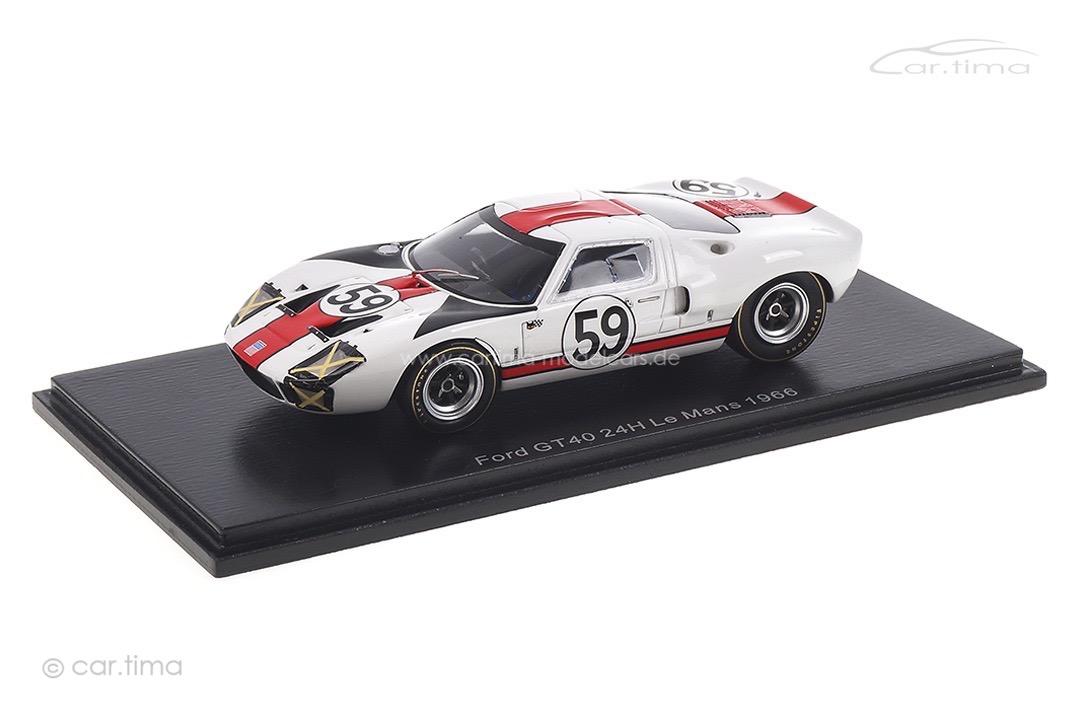 Ford GT40 24h Le Mans 1966 Scott/Revson Spark 1:43 S4537