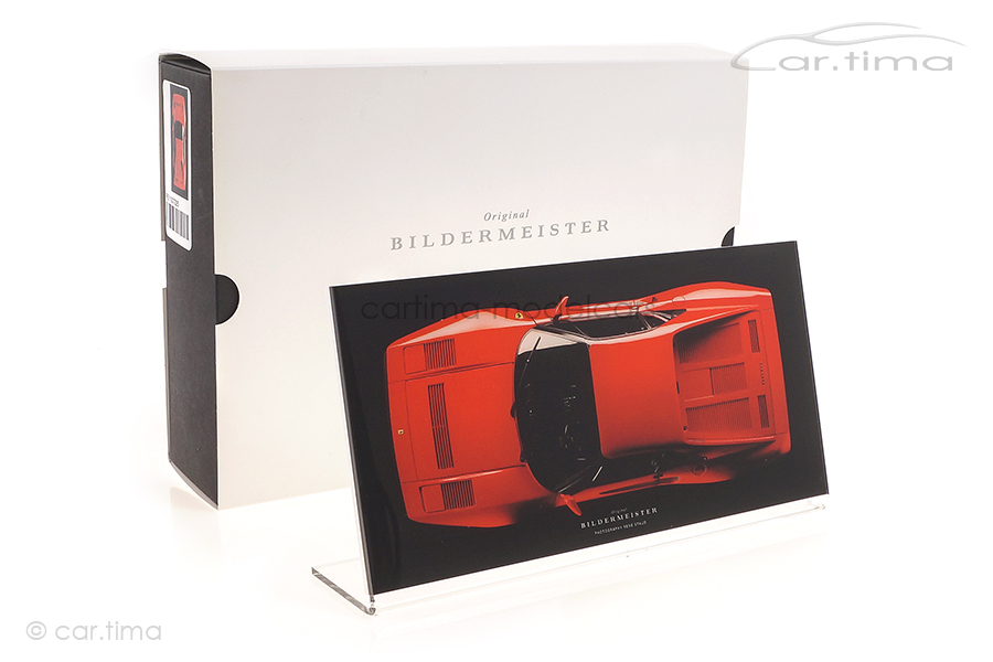 Bildermeister MINIpic Ferrari 288 GTO 1984 Acrylglas-Aufsteller 15 cm x 30 cm RS11007226