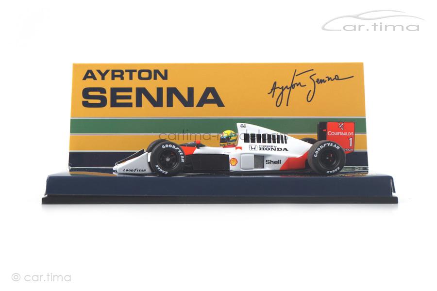 McLaren Honda MP4/5 Formel 1 1989 Ayrton Senna Minichamps 1:43 540894301