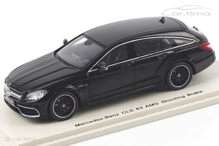 Mercedes-Benz CLS 63 AMG Shooting Brake schwarz Spark 1:43 S1080