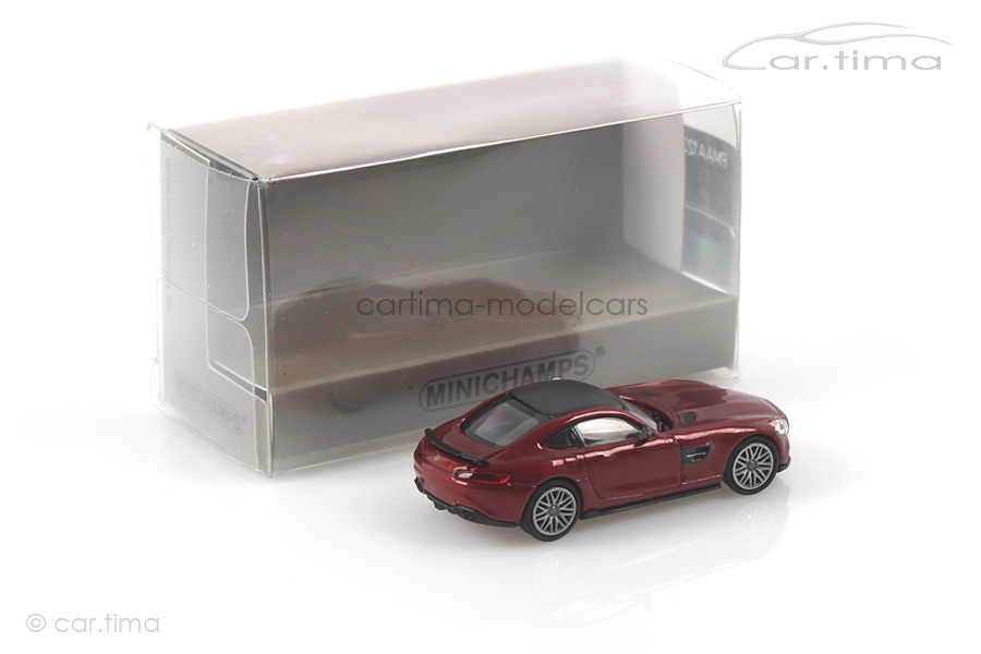Brabus 600 auf Basis MB AMG GT S 2015 rot Minichamps 1:87 870037321