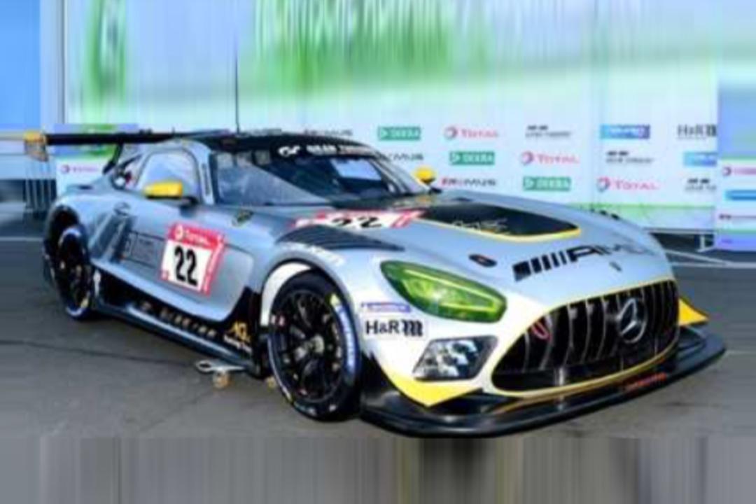 Mercedes-AMG GT3 24h Nürburgring 2020 Asch/Heyer/Jäger/Juncadella Spark 1:43 SG704