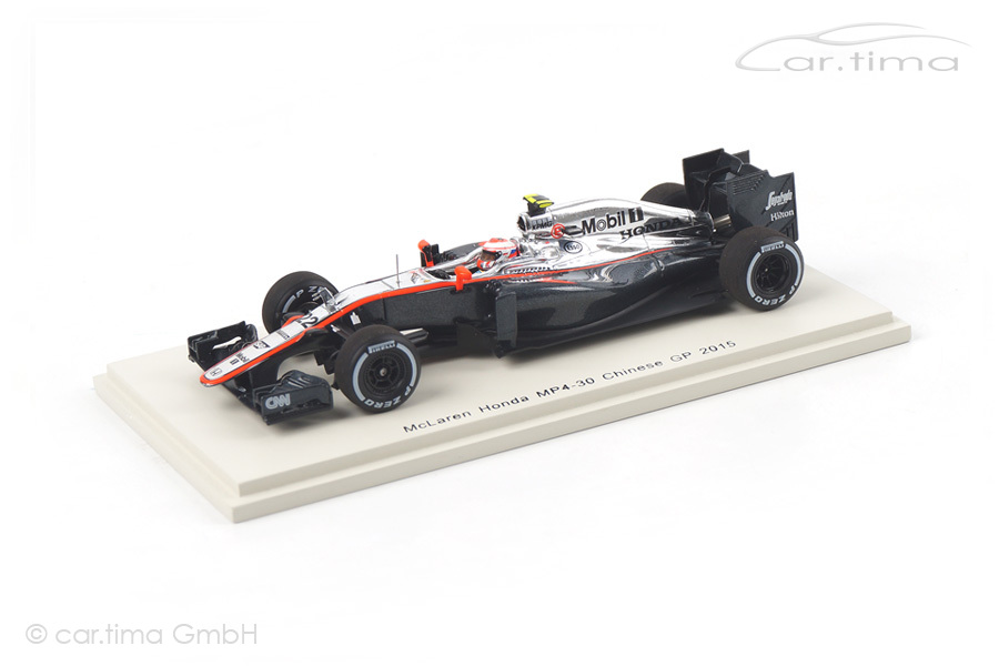 McLaren Honda MP4-30 GP China 2015 Jenson Button Spark 1:43 S4614