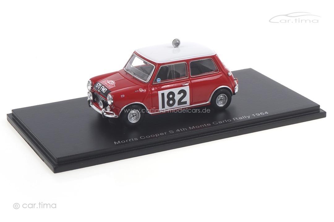 Morris Cooper S Rallye Monte Carlo 1964 Mäkinen/Vanson Spark 1:43 S1191