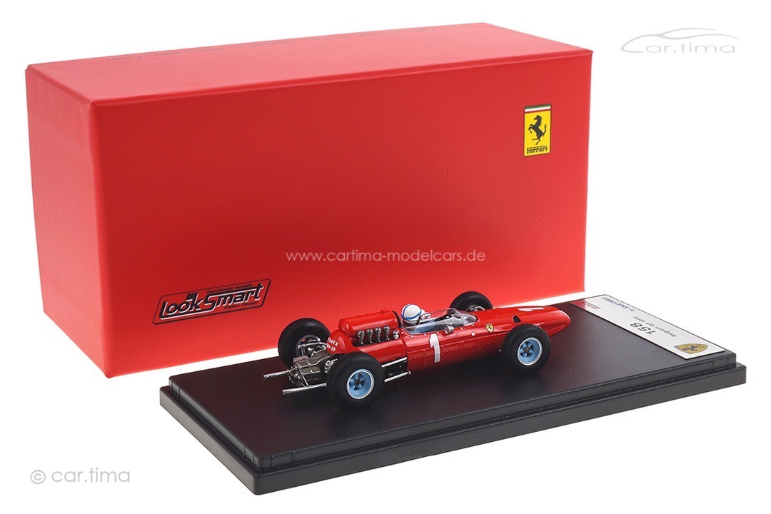 Ferrari 158 GP Belgien 1965 John Surtees LookSmart 1:43 LSRC069