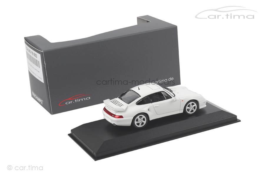 Porsche 911 (993) Turbo S Weiß Minichamps car.tima EXCLUSIVE 1:43 CA04316003