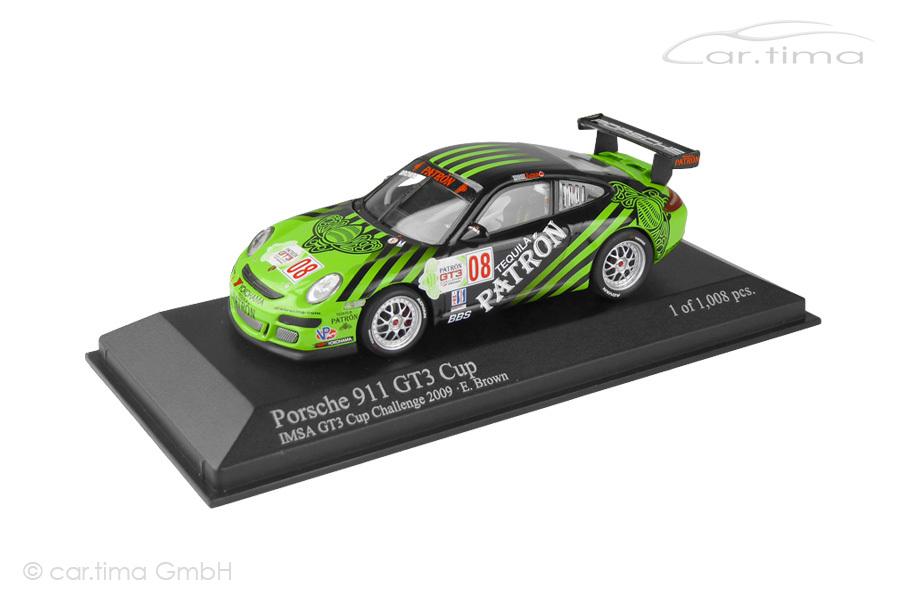 Porsche 911 (997) GT3 Cup IMSA GT3 Challenge 2009 Brown Minichamps 1:43 400096708
