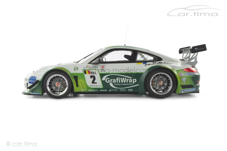 Porsche 911 (997 II) GT3 R FIA GT3 European Championship 2011 Minichamps 1:18 151118902