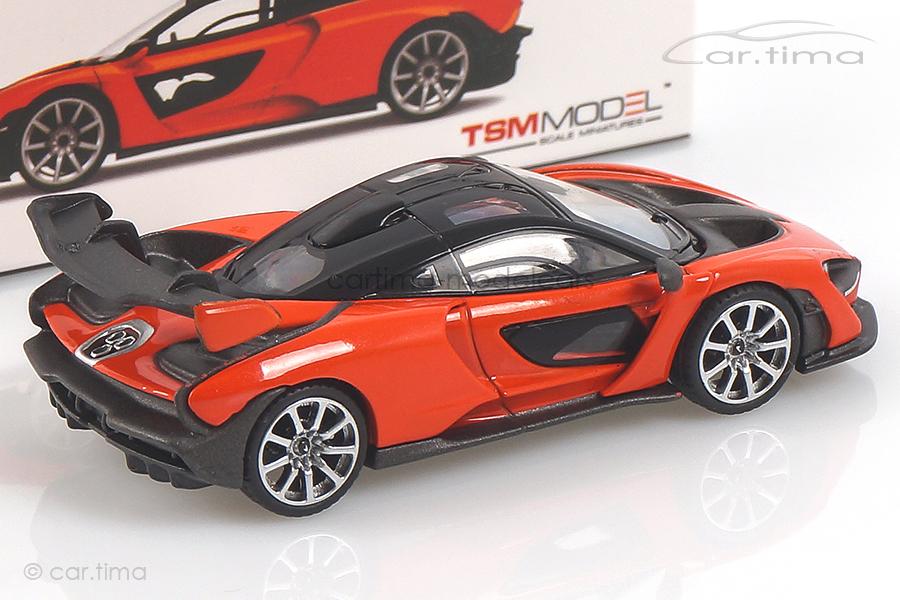 McLaren Senna (LHD) Mira orange MINI GT 1:64 MGT00018-L