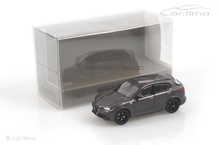 Alfa Romeo Stelvio Quadrifoglio grau Minichamps 1:87 870120201