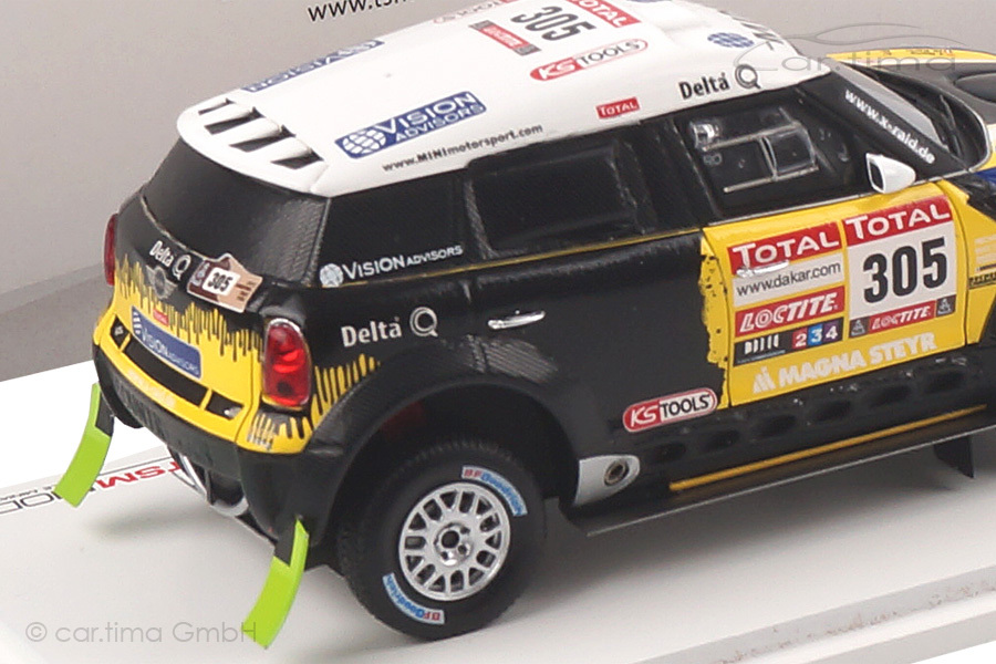 Mini Countryman All4 Racing Rally Dakar 2012 Roma/Perin TSM 1:43 TSM144343