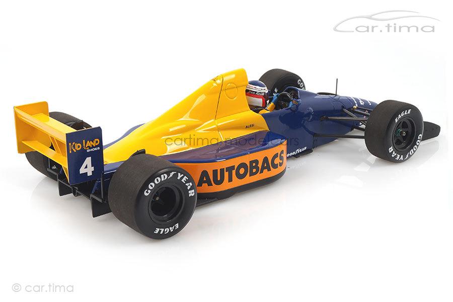 Tyrrell Ford 018 GP Japan 1989 Jean Alesi Minichamps 1:18 110891504