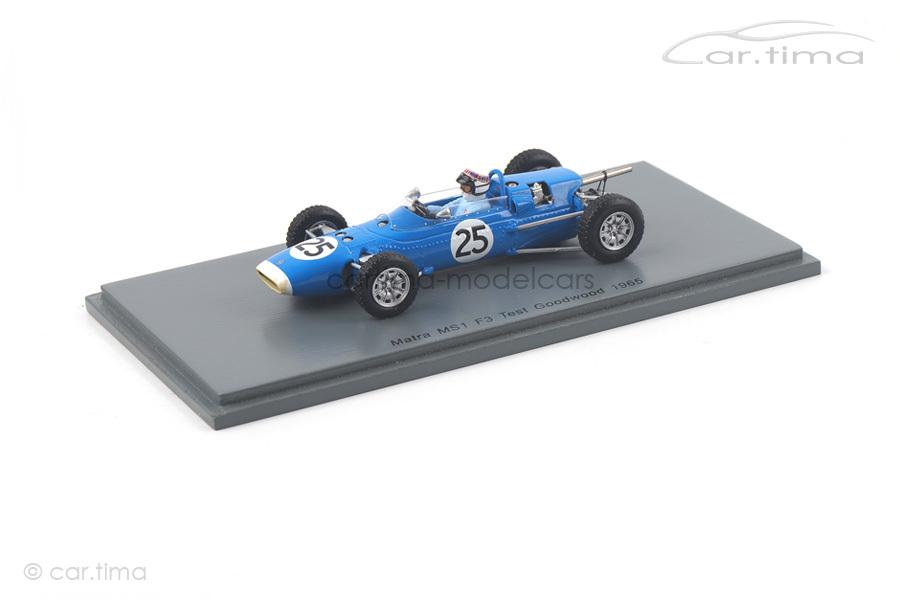 Matra MS1 Test Goodwood 1966 Jackie Stewart Spark 1:43 S5412