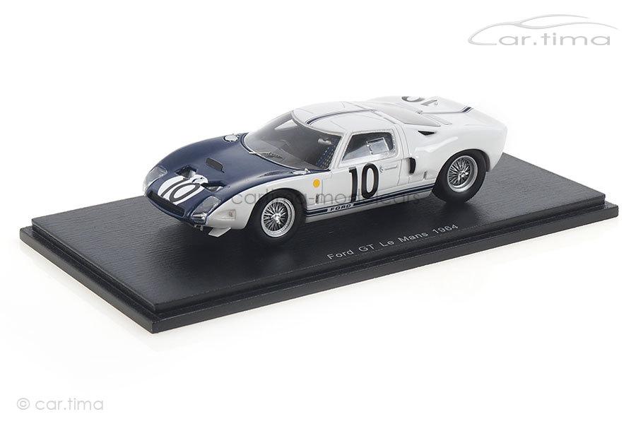 Ford GT40 24h Le Mans 1964 Hill/McLaren Spark 1:43 S4078