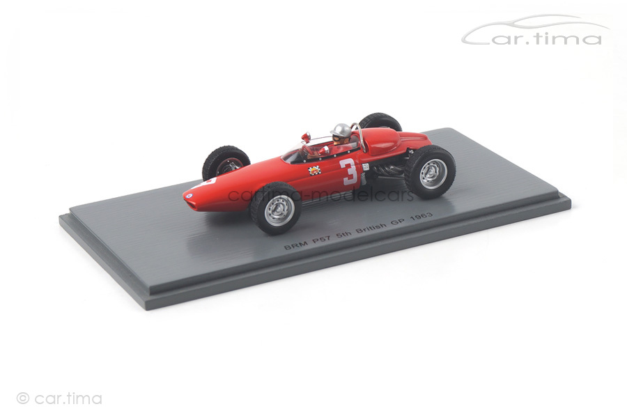 BRM P57 GP Großbritannien 1963 Lorenzo Bandini Spark 1:43 S5270