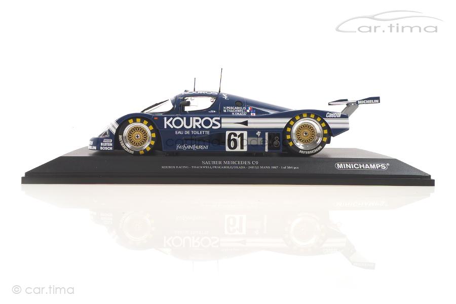 Sauber Mercedes C9 24h Le Mans 1987 Thackwell/Pescarolo/Okada Minichamps 1:18 155873561