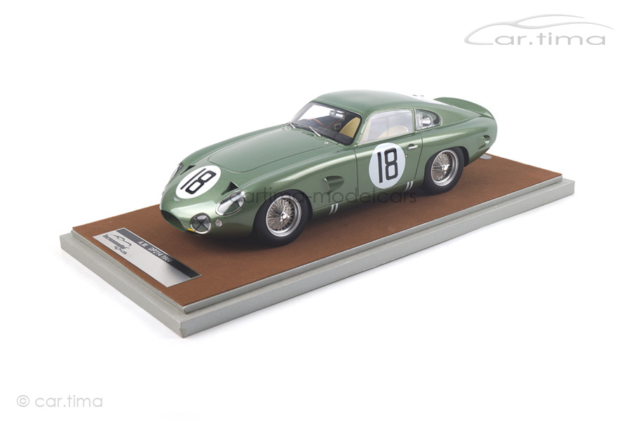 Aston Martin DP214 24h Le Mans 1964 Salmon/Sutcliffe Tecnomodel 1:18 TM18-72B