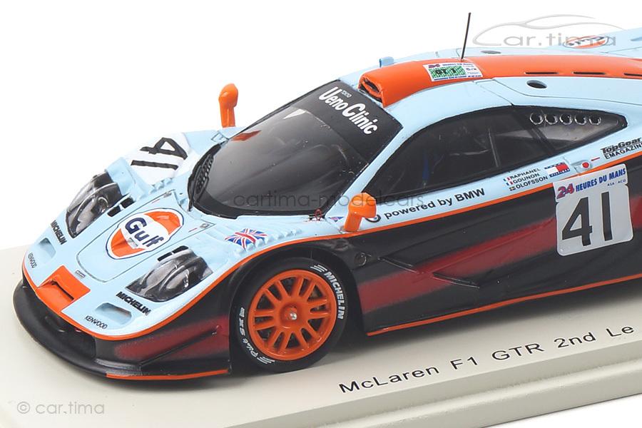 McLaren F1 GTR 24h Le Mans 1997 Gounon/Olofsson/Raphanel Spark 1:43 S5083