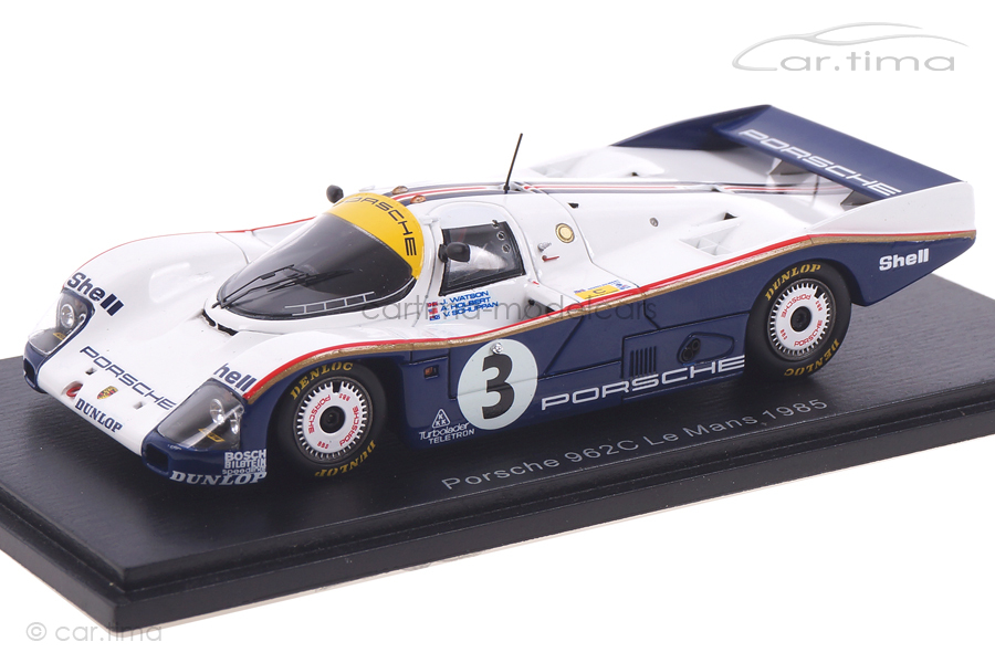 Porsche 962 C 24h Le Mans 1985 Holbert/Schuppan/Watson Spark 1:43 S4088