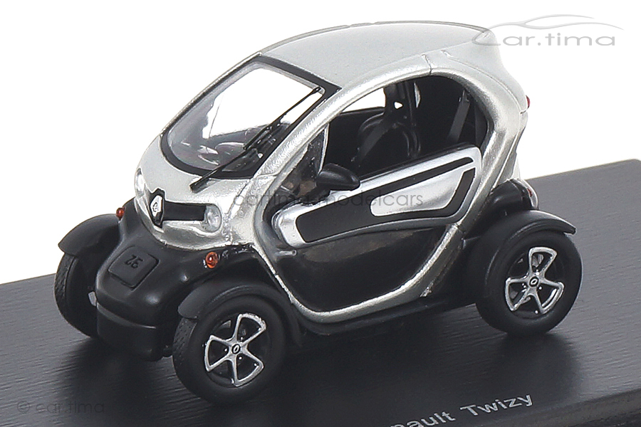 Renault Twizy silber Spark 1:43 S4500