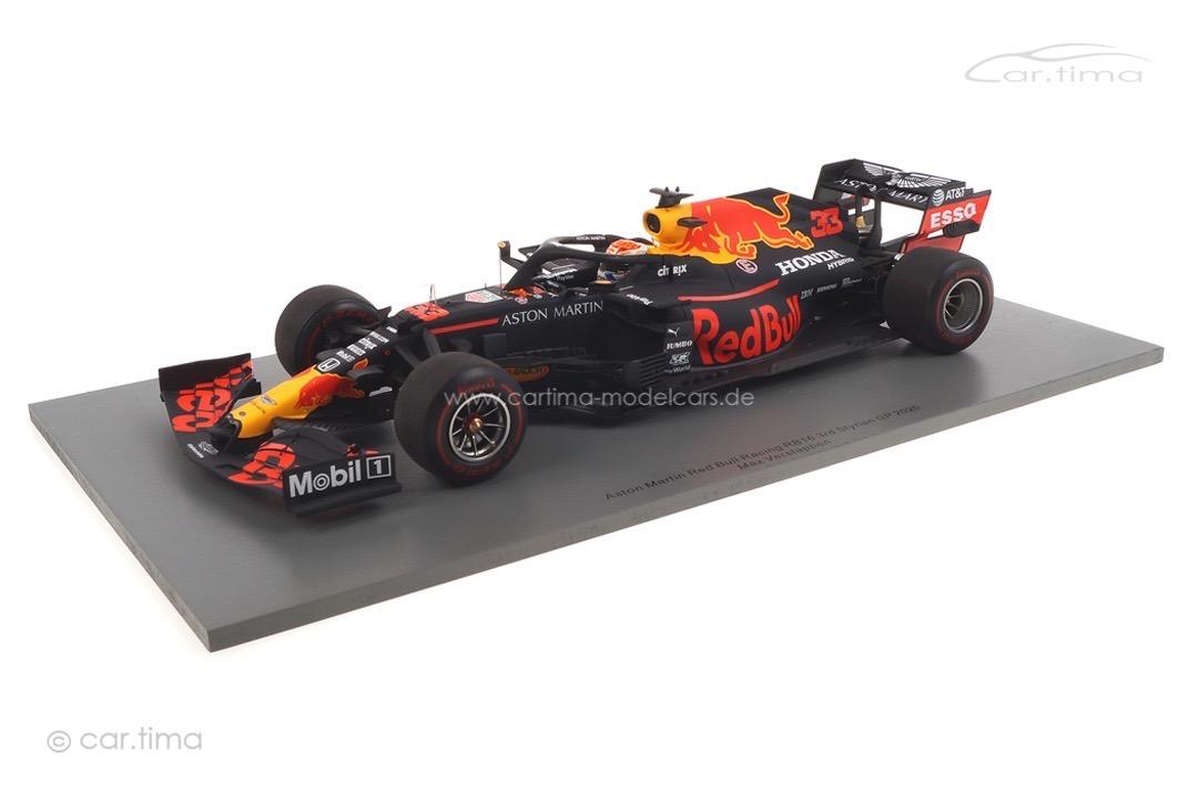 Aston Martin Red Bull Racing RB16 GP Steiermark 2020 Max Verstappen Spark 1:18 18S484