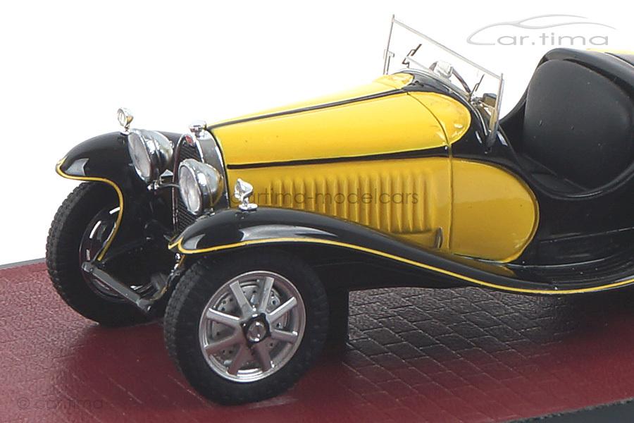 Bugatti T55 Roadster gelb/schwarz Matrix 1:43 MX40205-071