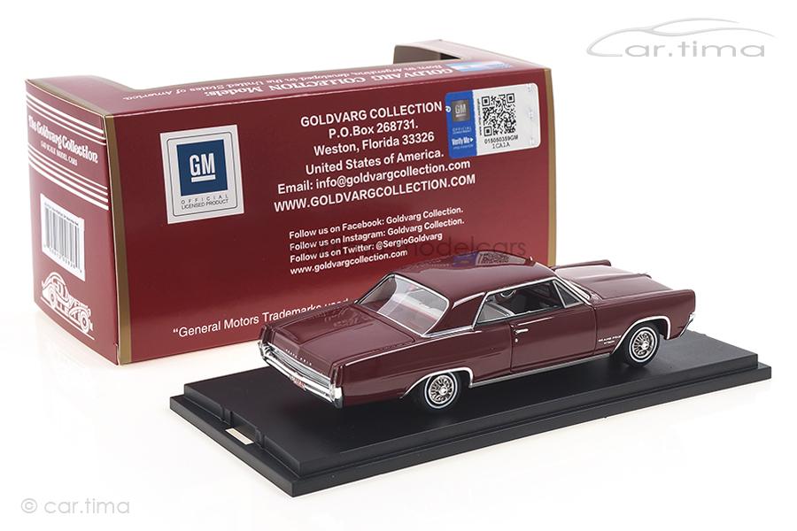 Pontiac Grand Prix Marimba Red 1964 Goldvarg 1:43 GC-015A