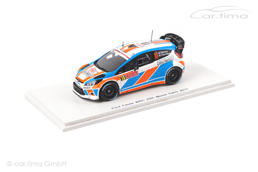 Ford Fiesta WRC Rally Monte Carlo 2015 Raoux/Escartefigue Spark 1:43 S4514
