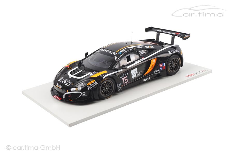 McLaren MP4-12C GT3 24h Spa 2014 Ojjeh/Grotz/Vervisch TSM 1:18 TSM151812R