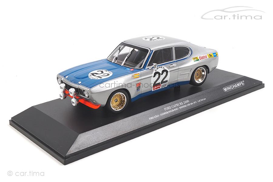 """Ford RS 2600 """"Köln"""" Winner 24h Spa 1971 Glemser/Soler-Roig Minichamps 1:18 155718522"""