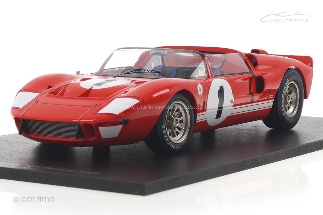 Ford X1 Winner 12h Sebring 1966 Miles/Ruby Spark 1:18 18SE66