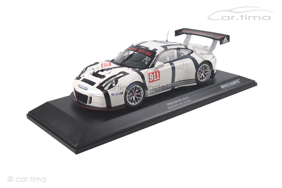 Porsche 911 (991) GT3 R Präsentation 2015 Minichamps 1:18 155156000