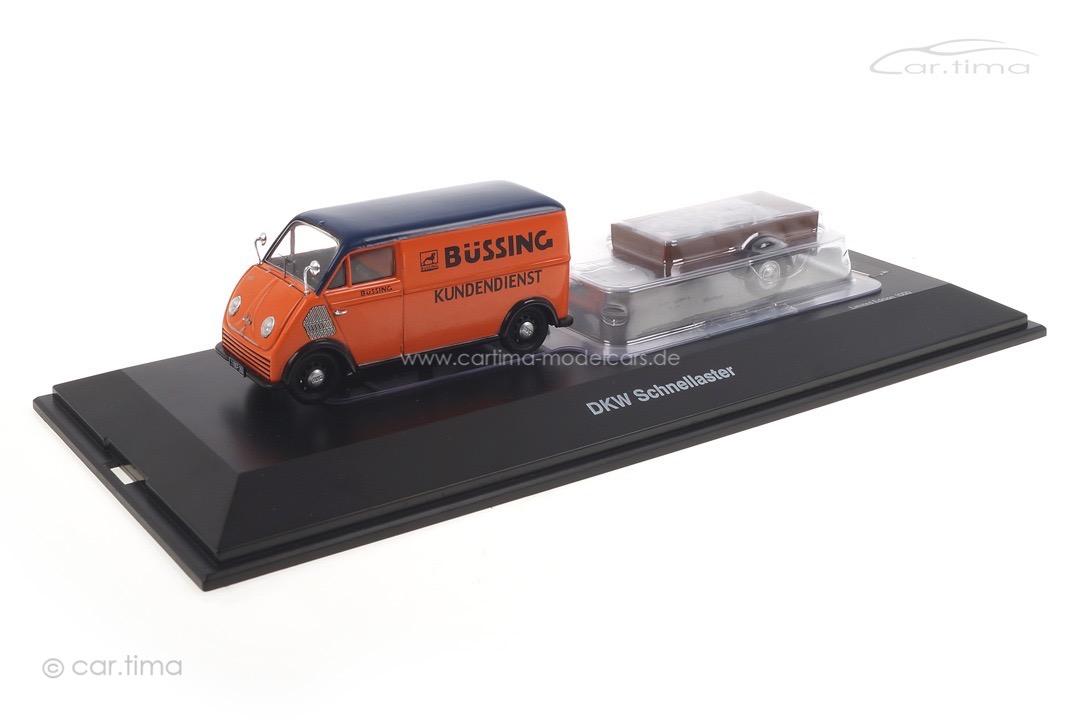 DKW Schnellaster Büssing Kundendienst Schuco 1:43 450238900