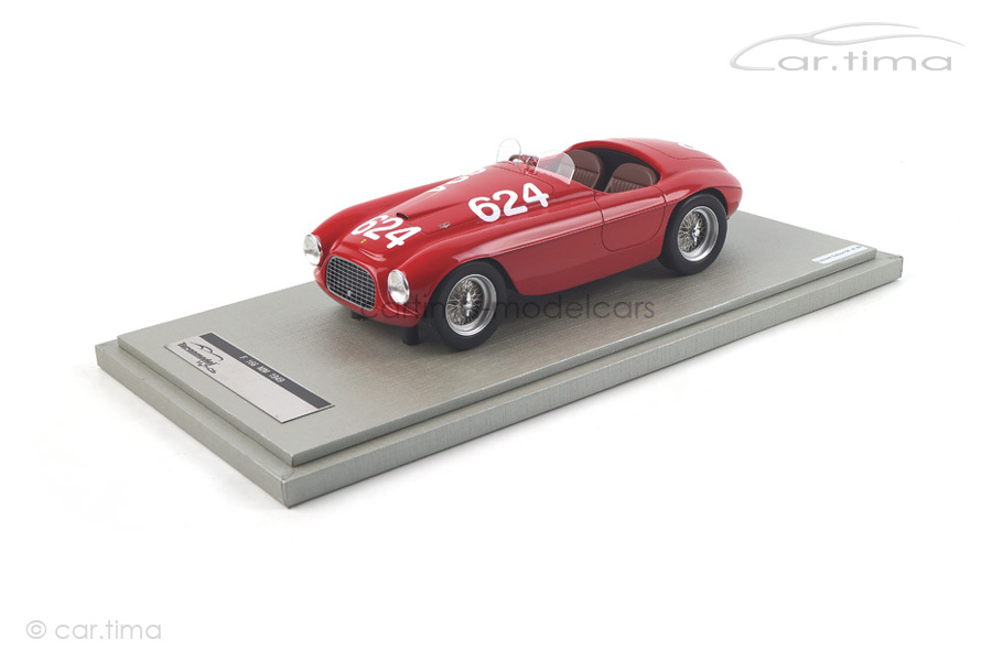 Ferrari 166MM Winner Mille Miglia 1949 Biondetti/Salani Tecnomodel 1:18 TM18-52D
