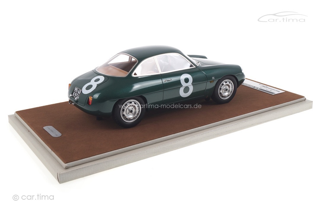 Alfa Romeo Giulietta SZ Targa Florio 1961 Priolo/Manfredini Tecnomodel 1:18 TM18-42C