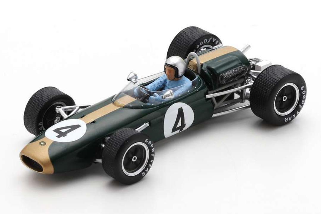 Brabham BT11A Winner GP Australien 1965 Jack Brabham Spark 1:43 S7434