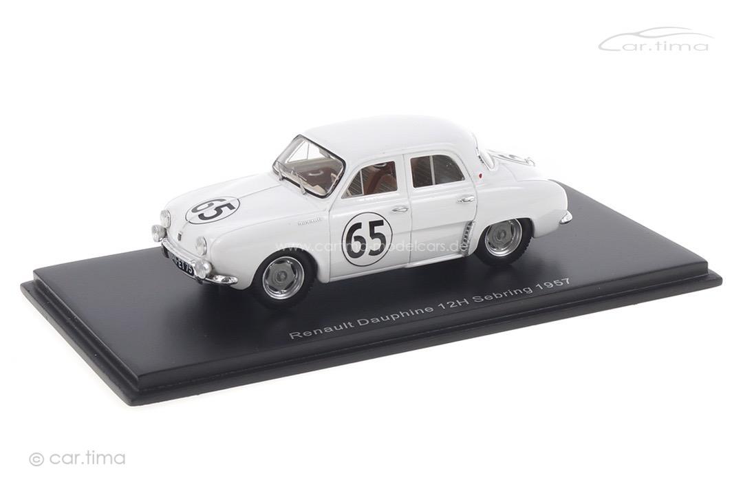 Renault Dauphine 12h Sebring 1957 Ferrier/Spydel/Thirion Spark 1:43 S5219