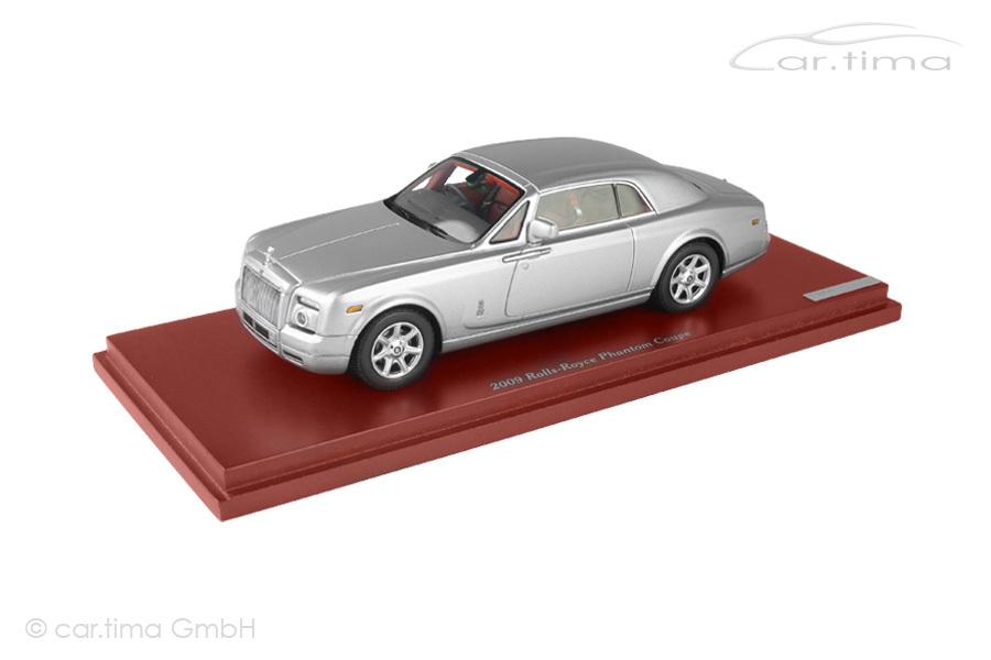Rolls-Royce Phantom Coupe 2009 silber TSM 1:43 TSM114322
