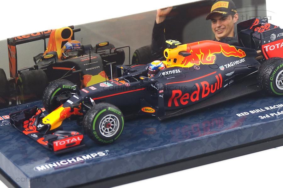 Red Bull RB12 Brazilian GP 2016 Verstappen Minichamps 1:43 417161233
