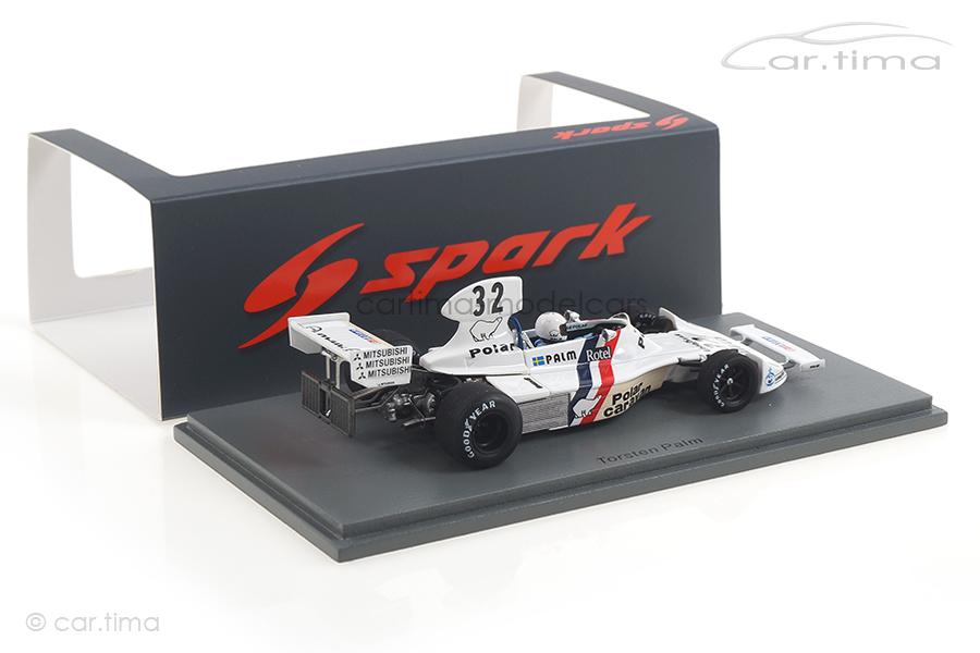 Hesketh 308 GP Schweden 1975 Torsten Palm Spark 1:43 S2467