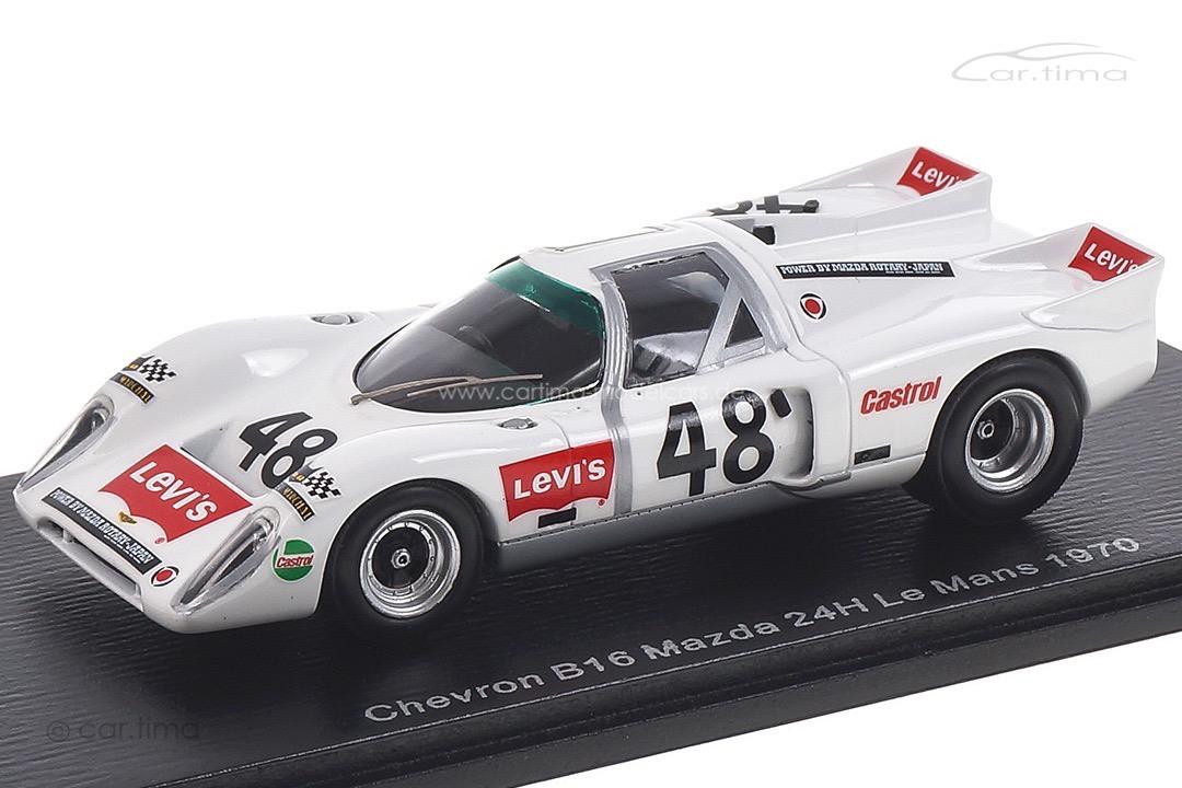 Chevron B16 Mazda 24h Le Mans 1970 Vernaeve/Deprez Spark 1:43 S9400