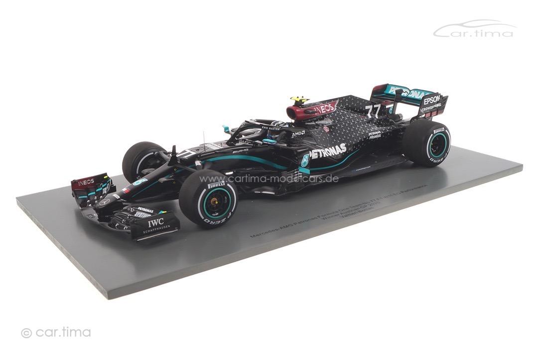 Mercedes-AMG F1 W11 Winner GP Austria 2020 Valtteri Bottas Spark 1:18 18S481